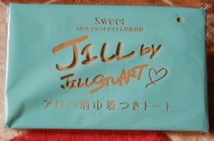 JILL by JILLSTUART アロハ柄巾着つきトート