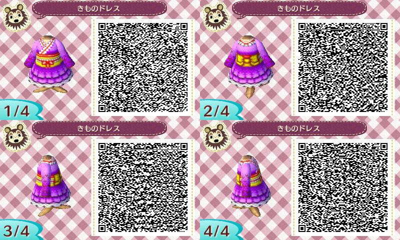 きものドレスのQRコード
