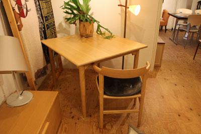 ハンス・J・ウェグナー  PPモブラー テーブル PP80