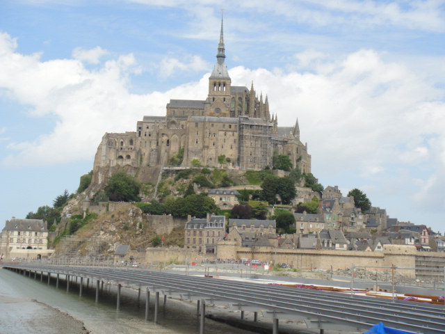 07 2013 モン・サン・ミッシェル in フランス