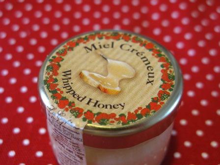 ホイップ蜂蜜