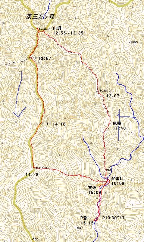 1006東三方ヶ森