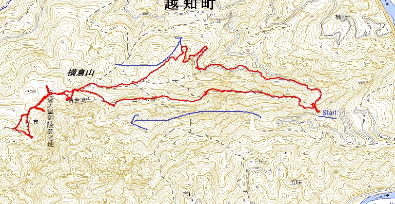 1014横倉山