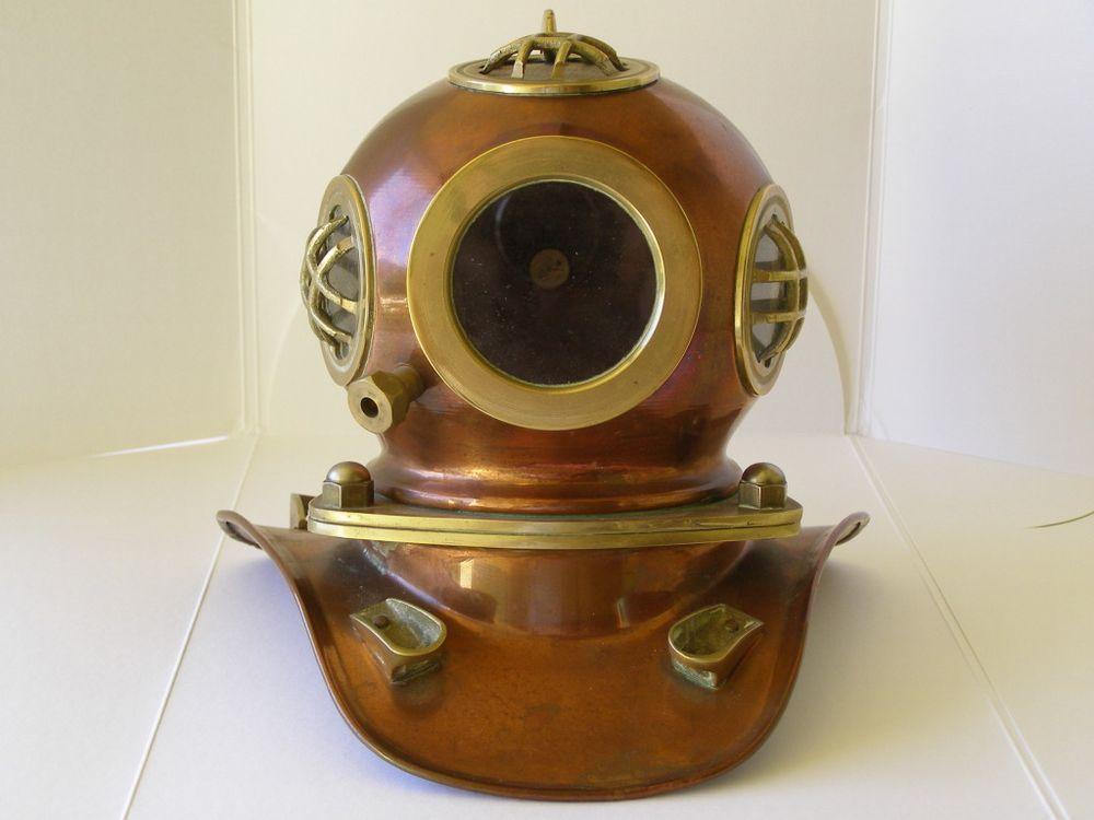 333333333Rolex Copper Diver Helmet Circa 1970
