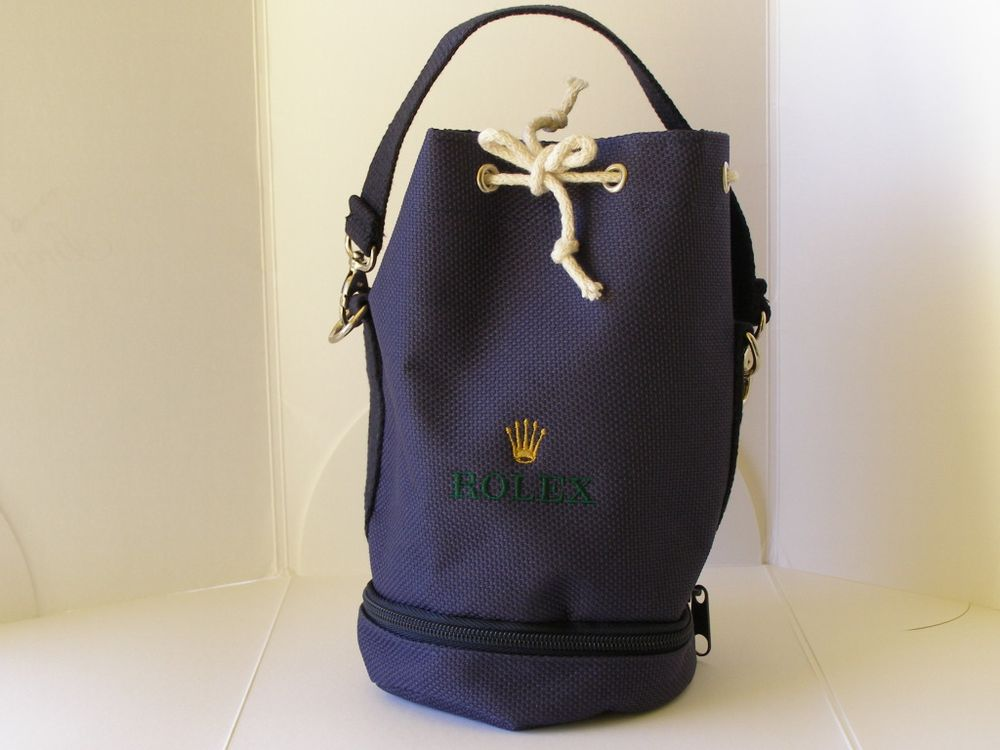 Rolex Small Blue Sailing Bag