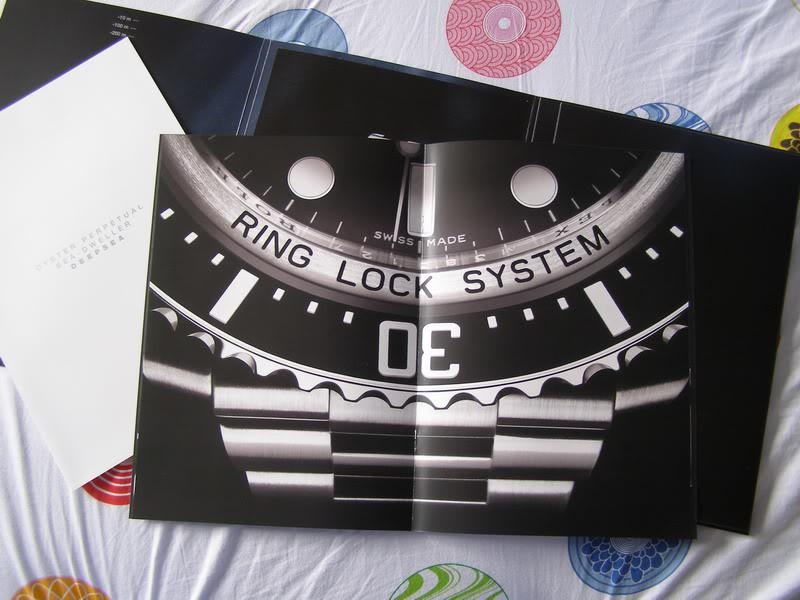 55555 Rolex Sea-Dweller Deepsea Press Kit
