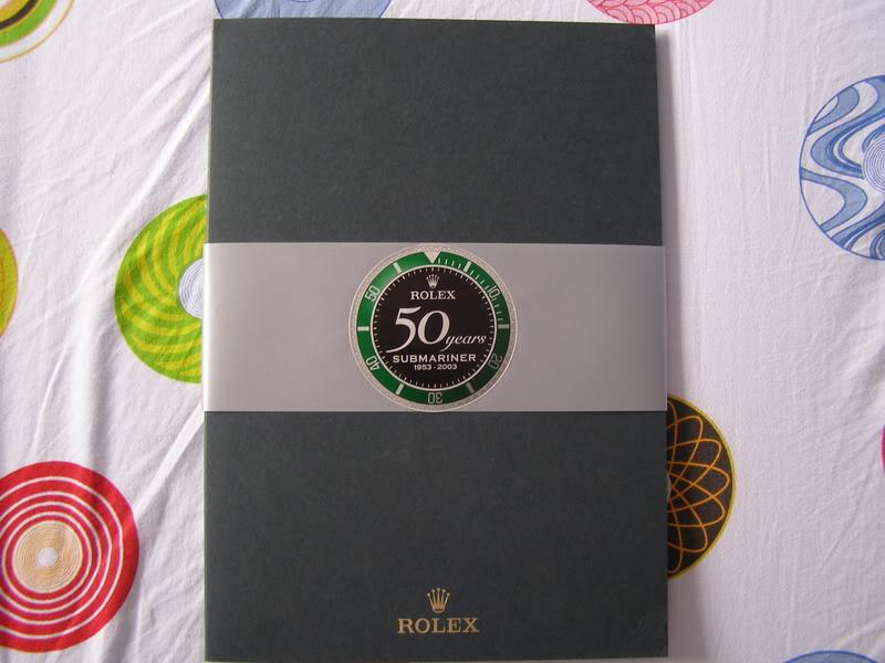 11111Rolex 50 Years Submariner Press Kit