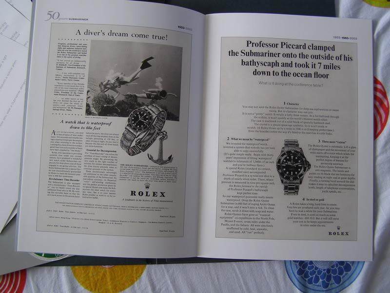 33333Rolex 50 Years Submariner Press Kit