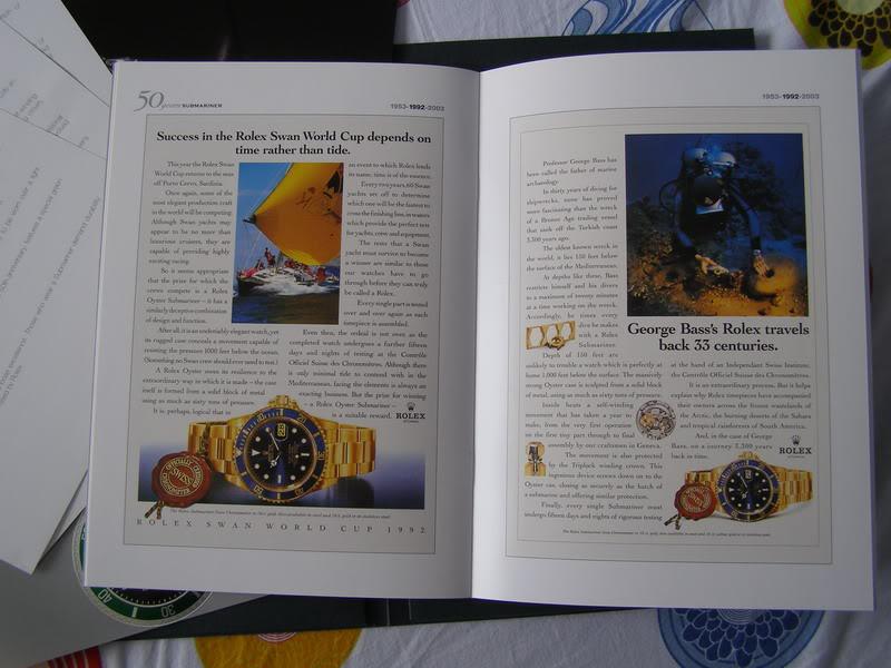 444444Rolex 50 Years Submariner Press Kit