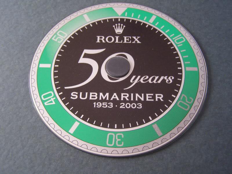 555555Rolex 50 Years Submariner Press Kit