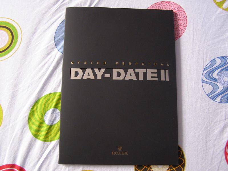 111111Rolex Day Date II Presskit