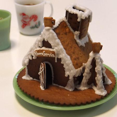 ファイヤーキング クリスマスケーキ