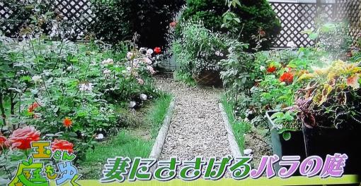 妻にささげるバラの庭