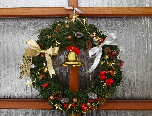 s-373-クリスマスリース