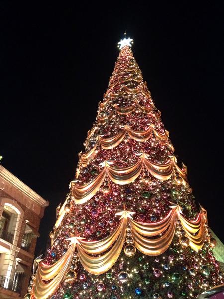 世界一のクリスマスツリー@USJ