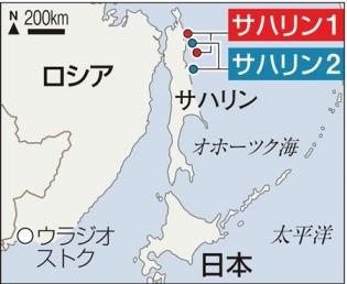 Map_2013-10-22_Russia_樺太_露プーチン政権、LNG輸出を自由化へ 「サハリン1」一転、争奪戦01