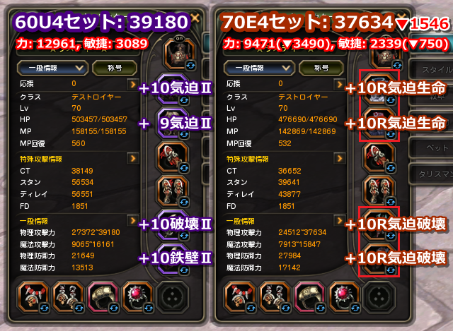 130824_60U70E4セットステータス比較