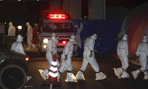 福島第一原発事故の収束作業の現場