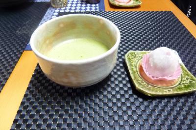 お抹茶と和菓子