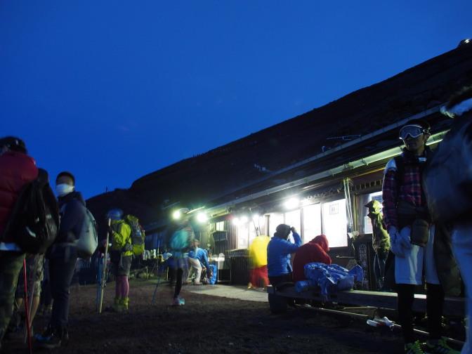 白雲荘(標高3,200m)