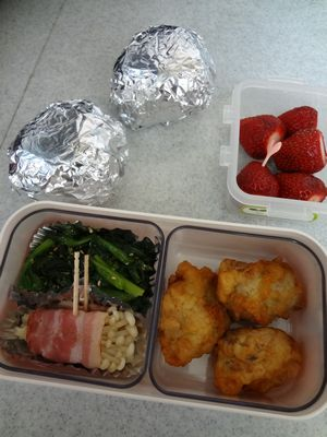 2013年3月28日のお弁当