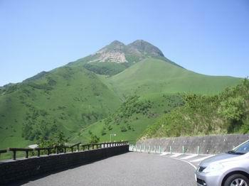 霧台からの由布岳25