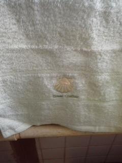 タオルで隠すトイレットペーパー
