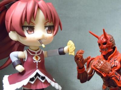 杏子とモモタロス