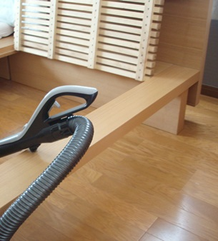 ベッド掃除