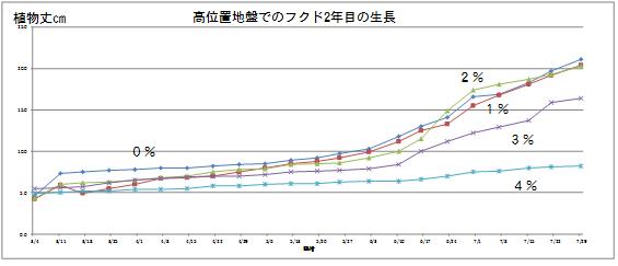 高位置生長グラフ