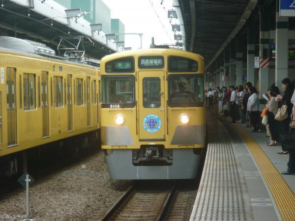 西武9108F 準急西武球場前行き1 2012-06-23