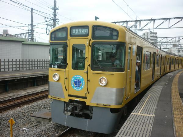西武9108F 準急西武球場前行き4 2012-06-23