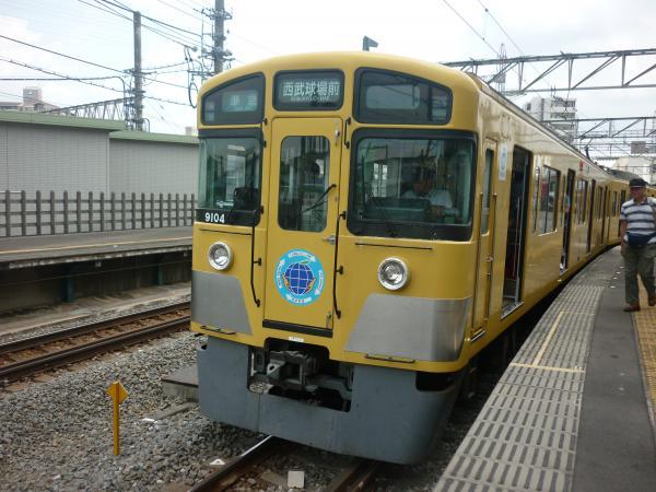 西武9104F 準急西武球場前行き5 2012-06-24