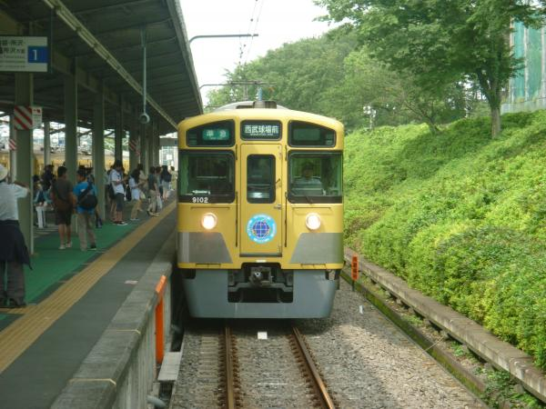 西武9102F 準急西武球場前行き1 2012-06-24