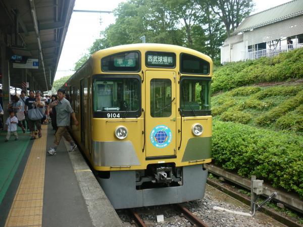 西武9104F 準急西武球場前行き6 2012-06-24