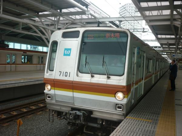 メトロ7101F 準急新木場行き 2012-06-24