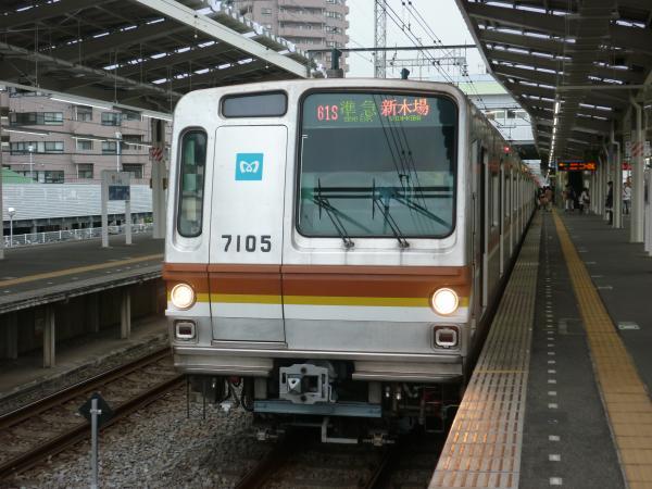 メトロ7105F 準急新木場行き 2013-03-29