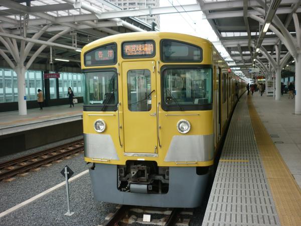 西武2087F 各停西武球場前行き2 2013-03-30