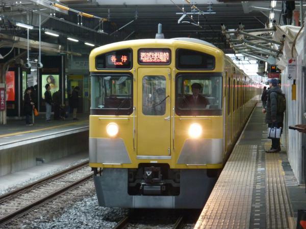 西武2073F 各停西武球場前行き 2013-03-30