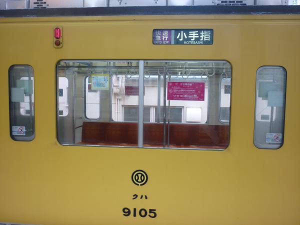 西武9105F 快速急行小手指行き 側面写真 2013-03-30