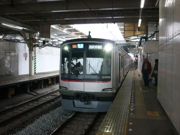 東急4104F 快速西武球場前行き 2013-03-30