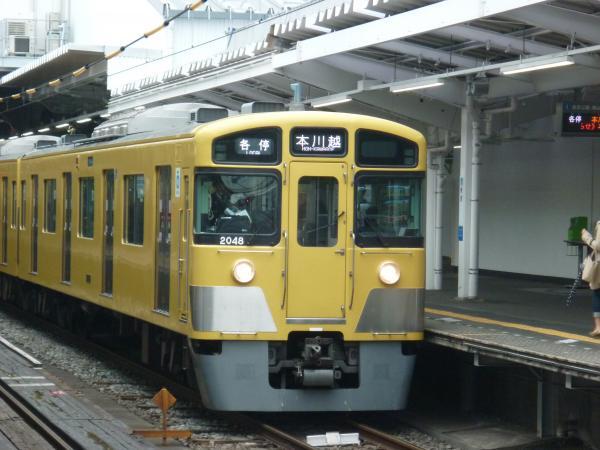 西武2047F 各停本川越行き 2013-03-30