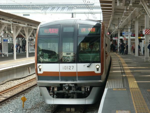 メトロ10127F 快速急行元町・中華街行き 2013-04-01