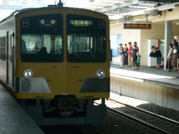 西武1309F 各停西武球場前行き 2012-07-15