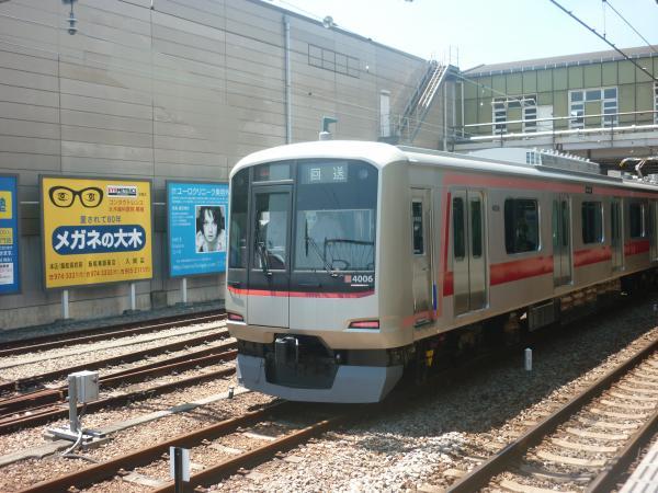 東急4106F 回送1 2012-07-31