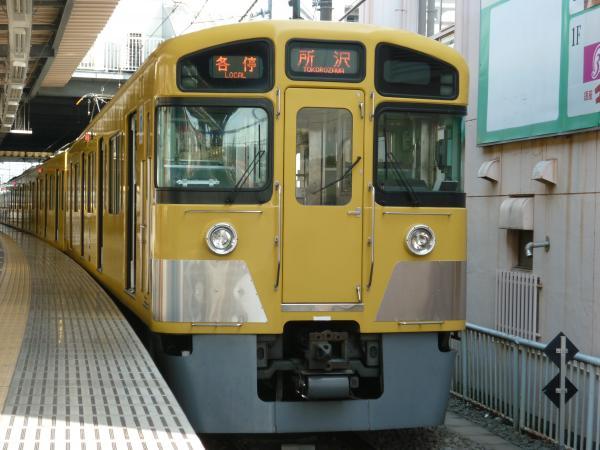 西武2085F 各停所沢行き2 2013-04-05