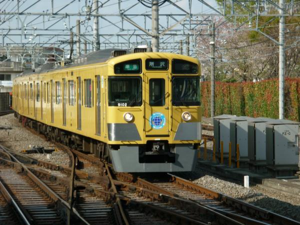 西武9102F 準急所沢行き1 2013-04-05