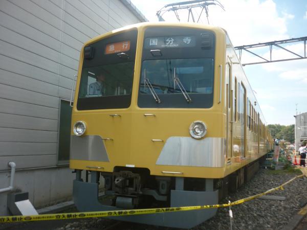 西武295F 南入曽車両基地 2012-08-25