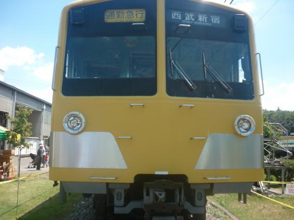 西武1241F 南入曽車両基地 2012-08-25