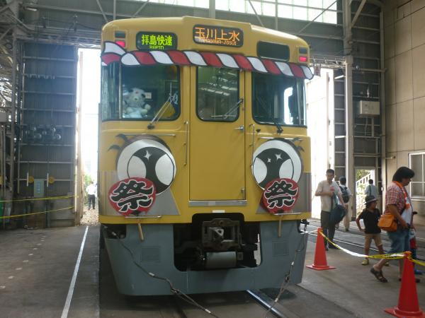 西武2419F 南入曽車両基地1 2012-08-25
